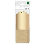 American Crafts - Christmas - Tags - Gold and Kraft