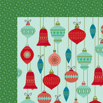 American Crafts - Christmas Magic Collection - 12 x 12 Double Sided Paper - Grace