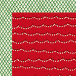American Crafts - Shimelle Collection - Christmas Magic - 12 x 12 Double Sided Paper - Sparkle