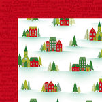American Crafts - Shimelle Collection - Christmas Magic - 12 x 12 Double Sided Paper - Silent