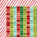 American Crafts - Shimelle Collection - Christmas Magic - 12 x 12 Double Sided Paper - Jingle