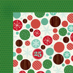 American Crafts - Shimelle Collection - Christmas Magic - 12 x 12 Double Sided Paper - Wonder