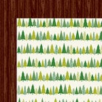 American Crafts - Shimelle Collection - Christmas Magic - 12 x 12 Double Sided Paper - Trim