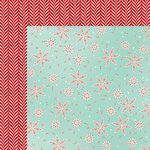 American Crafts - Shimelle Collection - Christmas Magic - 12 x 12 Double Sided Paper - Flurry