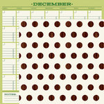 American Crafts - Christmas Magic Collection - 12 x 12 Double Sided Paper - Record