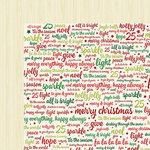 American Crafts - Shimelle Collection - Christmas Magic - 12 x 12 Double Sided Paper - Celebrate