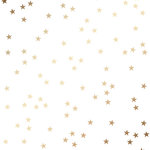 American Crafts - Shimelle Collection - Christmas Magic - 12 x 12 Vellum with Foil Accents - Stars
