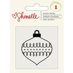 American Crafts - Shimelle Collection - Christmas Magic - Clear Acrylic Stamps - Ornament