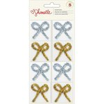 American Crafts - Shimelle Collection - Christmas Magic - Tinsel Bows