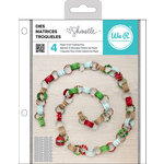 We R Memory Keepers - Shimelle Collection - Christmas Magic - Die Sets - Paper Chains