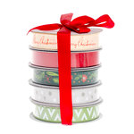 American Crafts - Ribbon - Christmas - 5 Spools