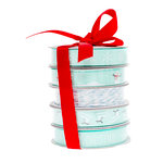 American Crafts - Ribbon - Winter - 5 Spools