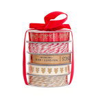 American Crafts - Christmas - Ribbon - Deck The Halls - 5 Spools