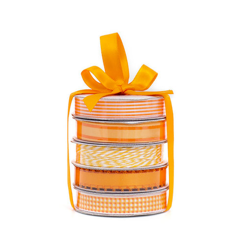 American Crafts - Premium Ribbon - Spring - Orange