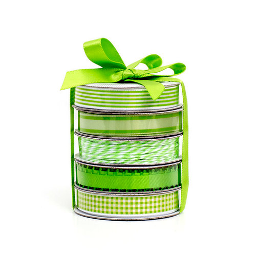 American Crafts - Premium Ribbon - Spring - Green