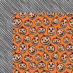 American Crafts - BOOtiful Night Collection - Halloween - 12 x 12 Double Sided Paper - Jack