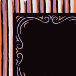 American Crafts - BOOtiful Night Collection - Halloween - 12 x 12 Double Sided Paper - Thrills and Chills
