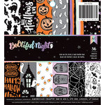 American Crafts - BOOtiful Night Collection - Halloween - 6 x 6 Paper Pad