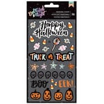 American Crafts - BOOtiful Night Collection - Halloween - Puffy Stickers