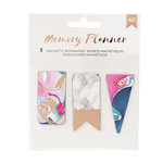 American Crafts - Memory Planner Collection - Marble Crush - Magnet Bookmarks