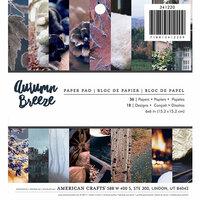 American Crafts - 6 x 6 Paper Pad - Autumn Breeze