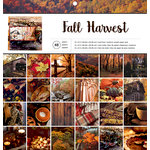 American Crafts - 12 x 12 Paper Pad - Fall Harvest