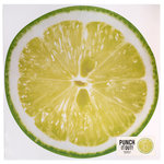 American Crafts - 12 x 12 Die Cut Paper - Lime Slice