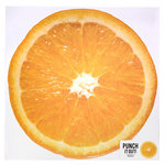 American Crafts - 12 x 12 Die Cut Paper - Orange Slice