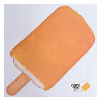 American Crafts - 12 x 12 Die Cut Paper - Popsicle