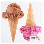 American Crafts - 12 x 12 Die Cut Paper - Ice Cream