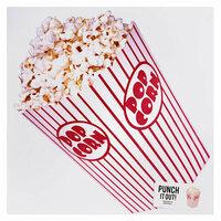 American Crafts - 12 x 12 Die Cut Paper - Popcorn