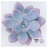American Crafts - 12 x 12 Die Cut Paper - Succulent 2