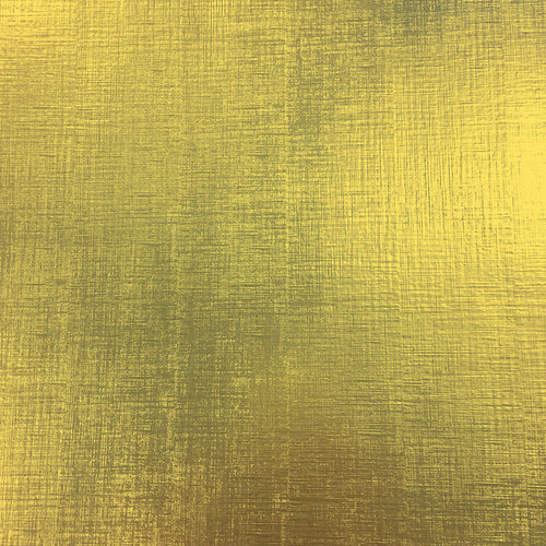 American Crafts - 12 x 12 Specialty Paper - Metallic Gold Texture