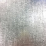 American Crafts - 12 x 12 Specialty Paper - Silver Linen