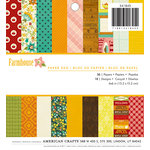 American Crafts - 6 x 6 Paper Pad - Farmhouse