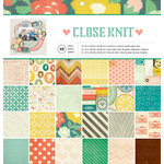 American Crafts - 12 x 12 Paper Pad - Close Knit