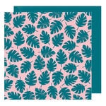 American Crafts - Hustle and Heart Collection - 12 x 12 Double Sided Paper - Pleased to Meet You