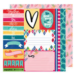 American Crafts - Hustle and Heart Collection - 12 x 12 Double Sided Paper - The Little Things