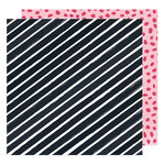 American Crafts - Hustle and Heart Collection - 12 x 12 Double Sided Paper - In Alignment