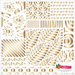 American Crafts - Hustle and Heart Collection - 12 x 12 Paper with Foil Accents