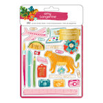 American Crafts - Hustle and Heart Collection - Sticker Book with Foil Accents