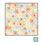 American Crafts - Double-Sided Paper - A la Carte Collection - Anise