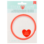 American Crafts - Adhesives - Sticky Thumb - Super Sticky Red Tape - 0.125 Inches - 5 Yards