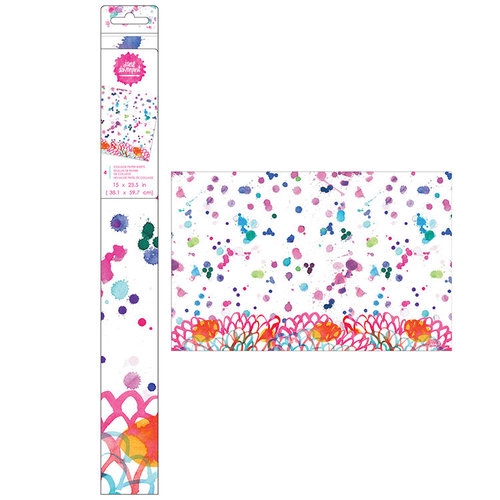 American Crafts - Mixed Media 2 - Collage Paper Sheets - Splatter