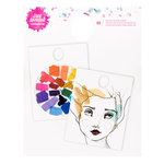 American Crafts - Mixed Media 2 - Mixing Palette Pad