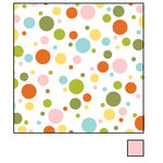 American Crafts - Double-Sided Paper - A la Mode Collection - Crepe