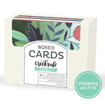 1 Canoe 2 - Creekside Collection - Boxed Card Set