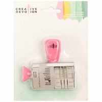 American Crafts - Creative Devotion Collection - Rotary Date Stamp