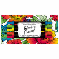 American Crafts - Blending Markers - Primary - 5 Pack