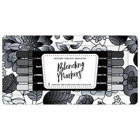 American Crafts - Blending Markers - Grayscale - 5 Pack